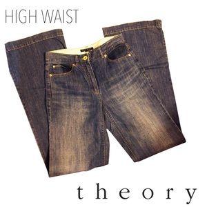 Medium Wash Yalina D Bruges - Denim Trouser/Wide